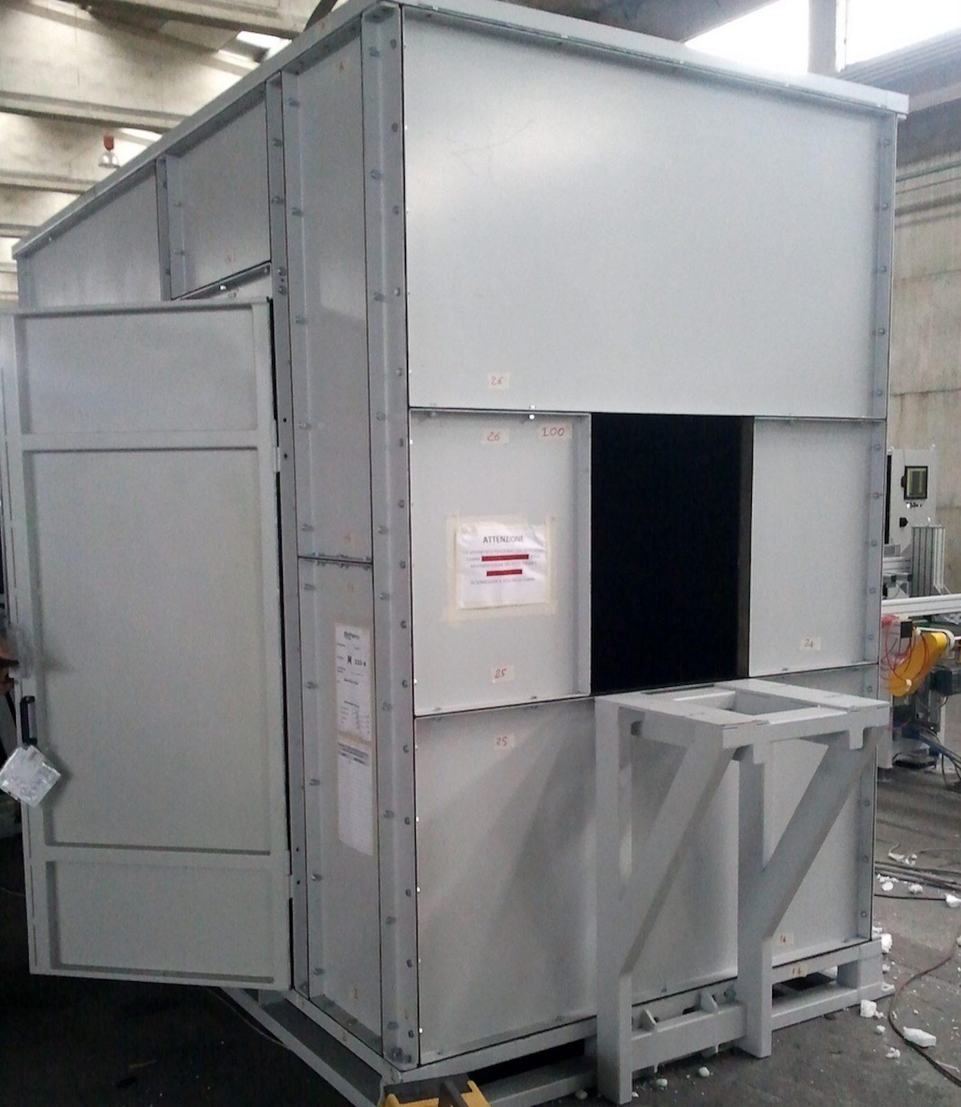 Camera Oscura Ispezione Vetri