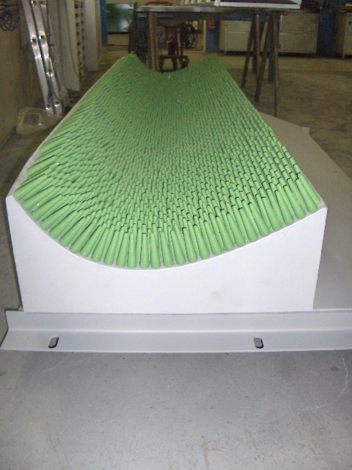 Soffiante con ugelli siliconici